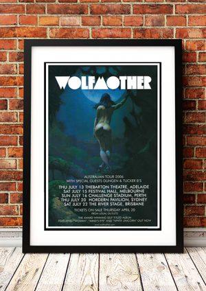 Wolfmother / Dungen / Tucker B's – Australian Tour 2006