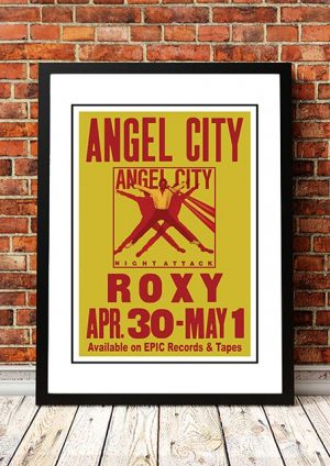 Angel City (The Angels) 'Roxy' West Hollywood, USA 1982