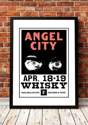Angels (Angel City) 'Whisky A Go Go' West Hollywood, USA 1981