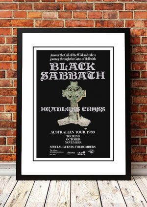Black Sabbath 'Australian Tour' 1989