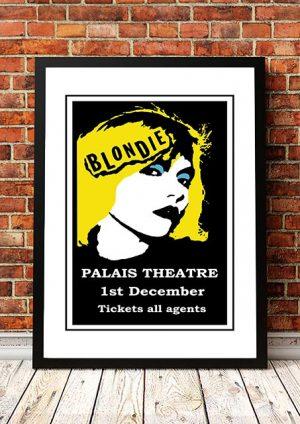 Blondie 'Palais Theatre' Melbourne, Australia 1977