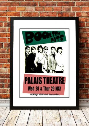 The Boomtown Rats 'Palais Theatre' Melbourne, Australia 1980