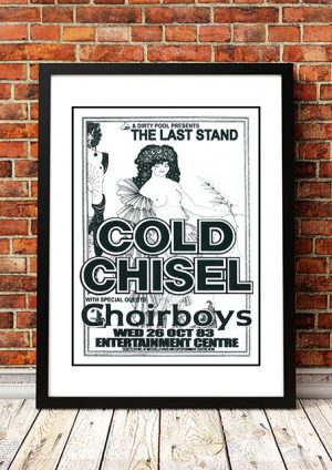 Cold Chisel / Choirboys 'Last Stand' Sydney, Australia 1983