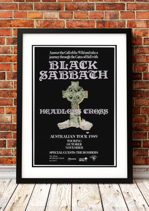 Black Sabbath 'Headless Cross' – Australian Tour 1989