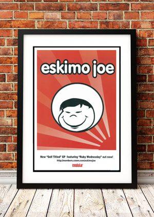 Eskimo Joe 'Self Titled EP' – In-Store Poster Australia 1999