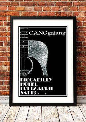 GANGgajang 'Piccadilly Hotel' – Sydney Australia