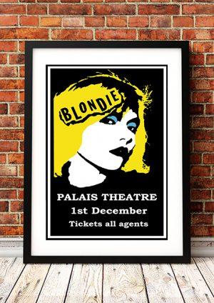 Blondie 'Palais Theatre' – Melbourne Australia 1977
