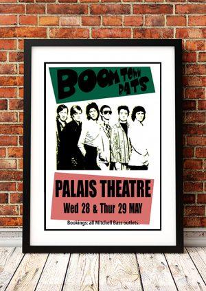 Boomtown Rats 'Palais Theatre' – Melbourne Australia 1980