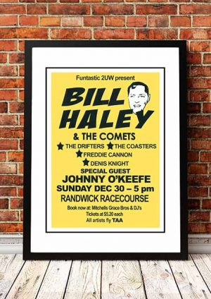 Bill Haley / Johnny O'Keefe 'Randwick Racecourse' Sydney, Australia 1973