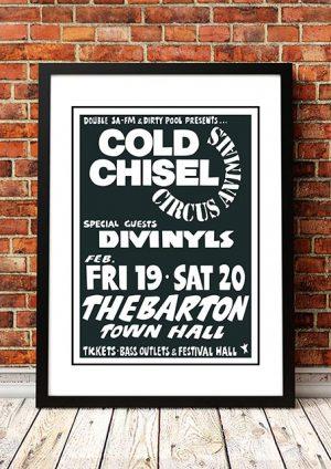 Cold Chisel / Divinyls 'Circus Animals' Adelaide, Australia 1982