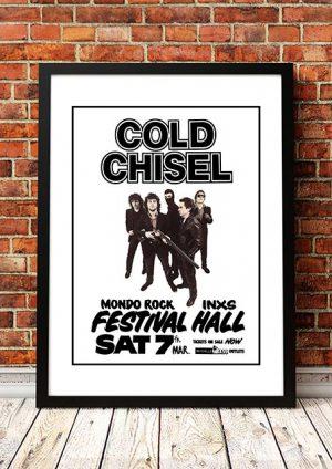 Cold Chisel / INXS / Mondo Rock 'Festival Hall' Melbourne, Australia 1981