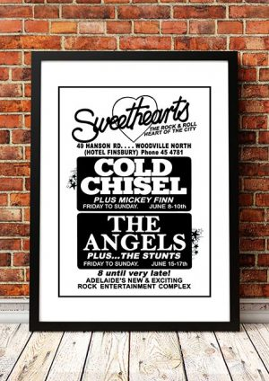 Cold Chisel / The Angels 'Sweethearts' Adelaide, Australia 1981