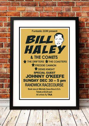 Bill Haley / Johnny O'Keefe 'Randwick Racecourse' Sydney, Australia 1973