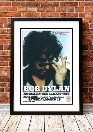 Bob Dylan – Australian Tour 1978