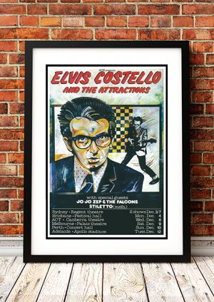 Elvis Costello / Jo Jo Zep And The Falcons – Australian Tour 1978