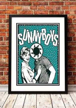 Sunnyboys 'Retro Girl' – Australian Tour Poster 1980