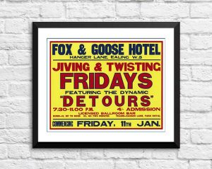 Detours (The Who) 'Fox And Goose Hotel' – Ealing London 1963