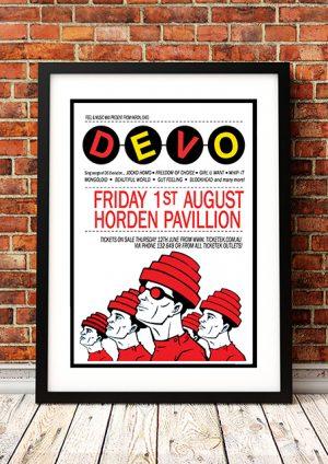 Devo 'Hordern Pavilion' – Sydney, Australia 2008