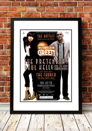 The Pretenders / Paul Kelly / The Church 'An Evening On The Green' Perth, Australia 2007