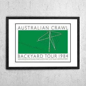 Australian Crawl 'Backyard Tour' Australia 1984