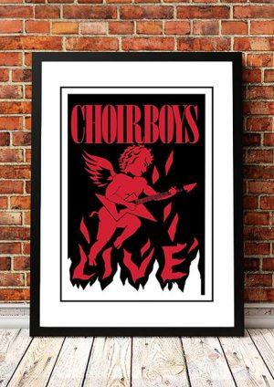 Choirboys 'Australian Tour' 1983