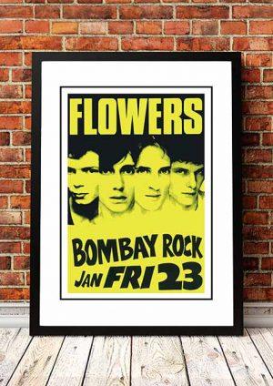 Flowers (Icehouse) 'Bombay Rock' Melbourne, Australia 1981