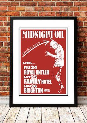 Midnight Oil 'March To Mecca' Sydney, Australia 1981