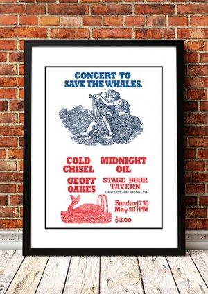 Midnight Oil / Cold Chisel 'Stage Door Tavern' Sydney, Australia 1980
