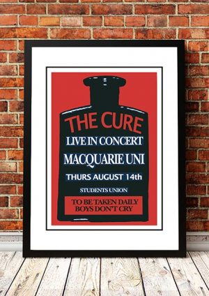 The Cure 'Macquarie Uni' Sydney, Australia 1980