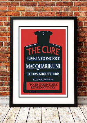 Cure 'Boys Don't Cry' – Sydney Australia 1980