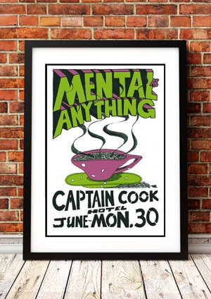 Mental As Anything 'Captain Cook Hotel' – Sydney Australia 1980