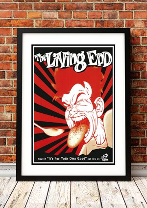 Living End 'It's For Your Own Good' – In Store Poster Australia 1996