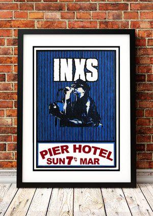 INXS 'Pier Hotel' Melbourne, Australia 1981