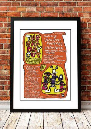 Violent Femmes / Nirvana 'Big Day Out Music Festival' Australia 1992
