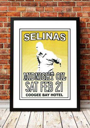 Midnight Oil 'Selinas' Sydney, Australia 1981