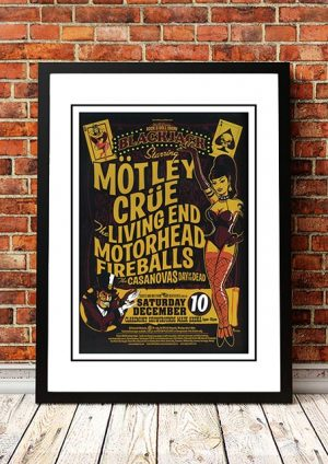 Motley Crue / The Living End / Motorhead 'Blackjack' Perth, Australia 2005