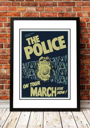 The Police 'Australian Tour' 1980