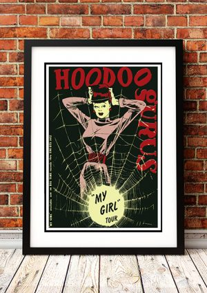 Hoodoo Gurus 'My Girl' – In Store Poster Australia 1983