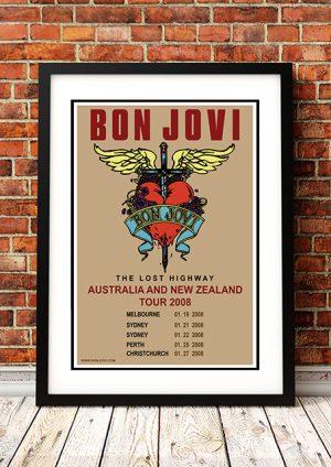 Bon Jovi – Australian / NZ Tour 2008