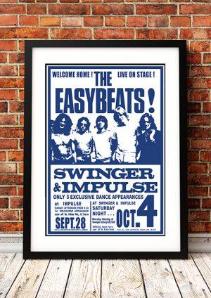 Easybeats 'Swinger And Impulse' – Melbourne Australia 1969