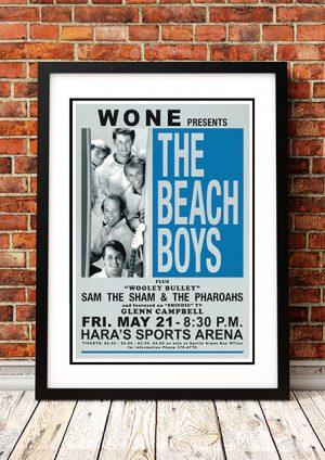 Beach Boys / Sam The Sham / Glenn Campbell 'Hara's Sports Arena' – Dayton US 1965