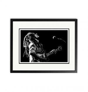 Bob Marley – 'Rare Limited Edition Fine Art Print'.