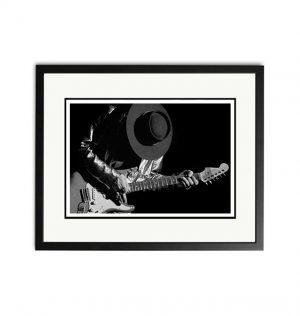 Stevie Ray Vaughan – 'Rare Limited Edition Fine Art Print'.
