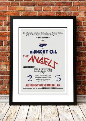 Angels (Angel City) / Midnight Oil  'ANU' Canberra, Australia 1978