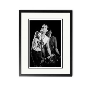 Clash / Joe Strummer – 'Rare Limited Edition Fine Art Print'.