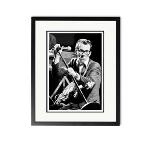 Elvis Costello – 'Rare Limited Edition Fine Art Print'.