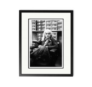Blondie / Debbie Harry – 'Rare Limited Edition Fine Art Print'.