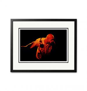 Midnight Oil / Peter Garrett – 'Rare Limited Edition Fine Art Print'.