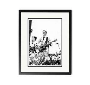 Split Enz – 'Rare Limited Edition Fine Art Print'.
