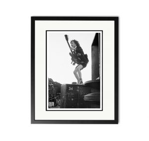 AC/DC / Angus Young – 'Rare Limited Edition Fine Art Print'